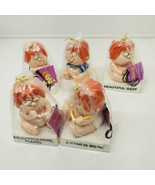 NOS VINTAGE 1983 Marvin A Star Is Born Comic Strip Baby figure Lot of 5 (z) - $29.70