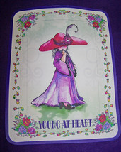 3 X Purple Sweat Shirt For Red Hat Ladies Of Society Reads: Young At Heart - $25.98
