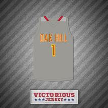 Harry Giles 1 Oak Hill Academy Gray Basketball Jersey - $45.99
