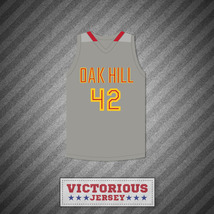 Josh Smith 42 Oak Hill Academy Gray Basketball Jersey - $45.99