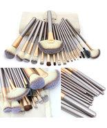 18 Pcs Professional Makeup Brushes Set Beauty Brush Kit Cosmetic Bag Pou... - $23.98