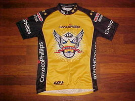 Louis Garneau Conoco Phillips Ride Far For MS Stars Men Bike / Cycling Jersey S - $18.40