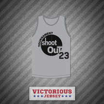Gray Tournament Shoot Out Basketball Jersey Above The Rim - $45.99