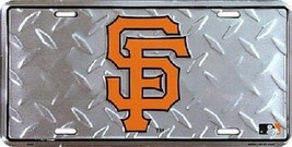 San Francisco Giants MLB Diamond Plate License ... - $8.86
