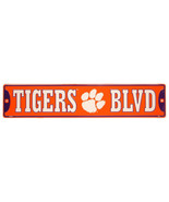 "Clemson Tigers NCAA ""Tigers Blvd"" Street Sign New - $14.80"