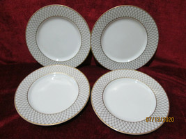 "Fitz & Floyd Dynasty   set of 4 Salad Plates 7 1/2"" - $28.66"