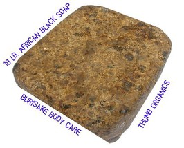 10 lb. African Black Soap Bulk - $69.99