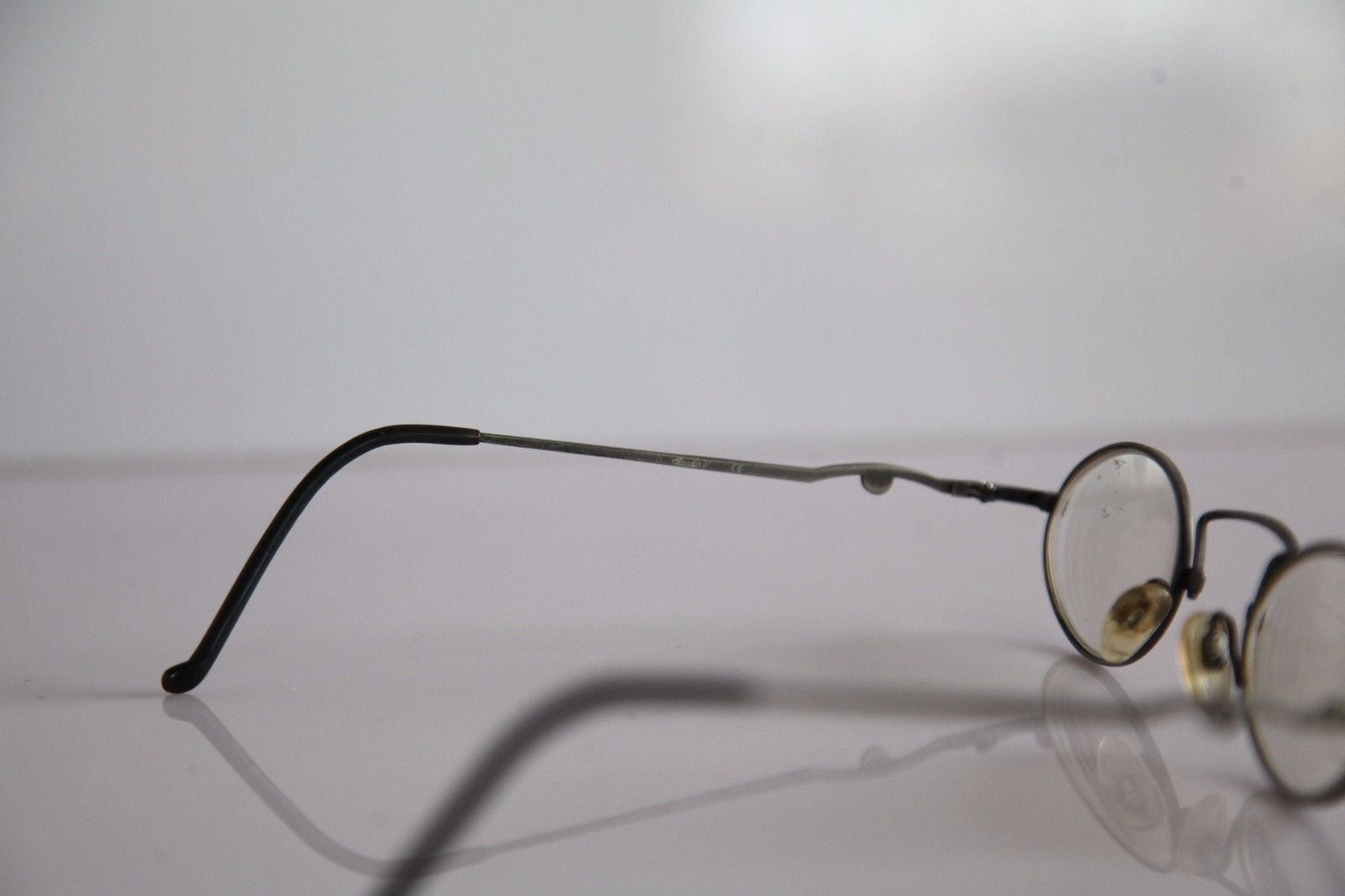 CLAUDIO P. Eyewear, Silver Frame, RX-Able Prescription lenses. Made in Italy image 6