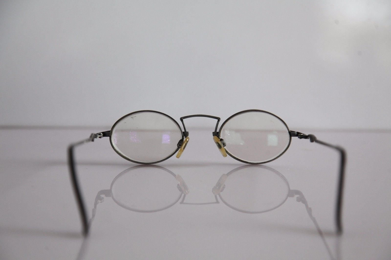 CLAUDIO P. Eyewear, Silver Frame, RX-Able Prescription lenses. Made in Italy image 8