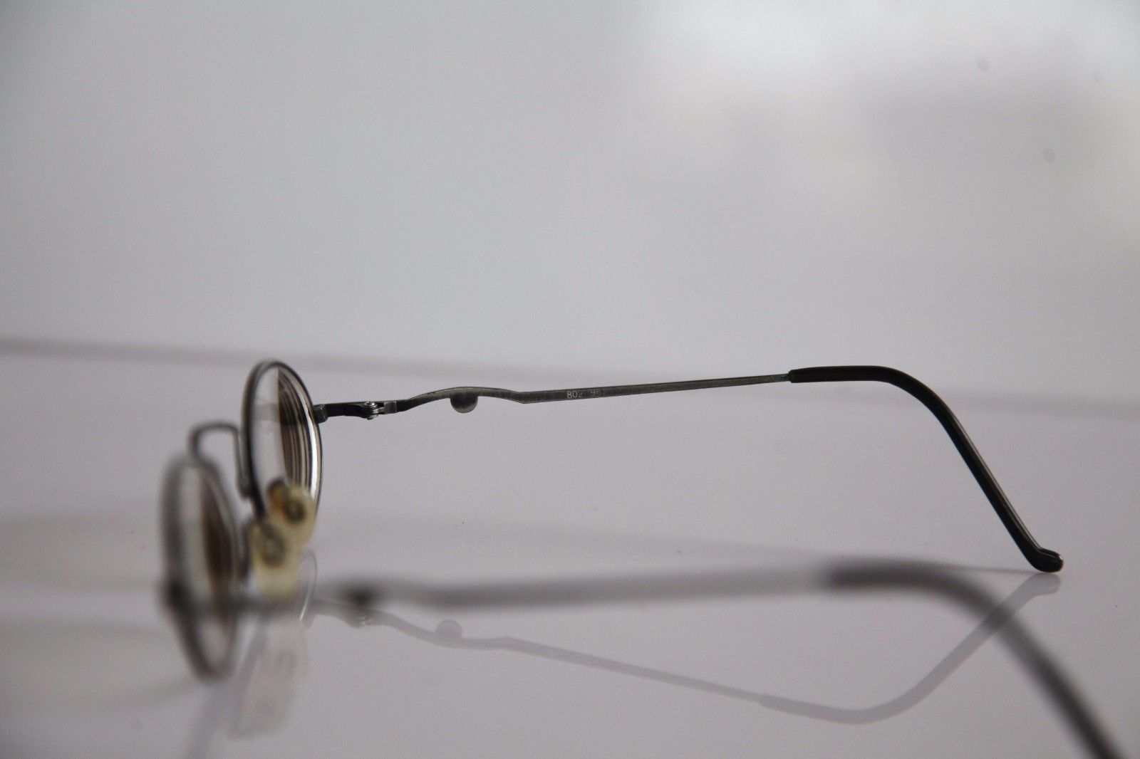 CLAUDIO P. Eyewear, Silver Frame, RX-Able Prescription lenses. Made in Italy image 7