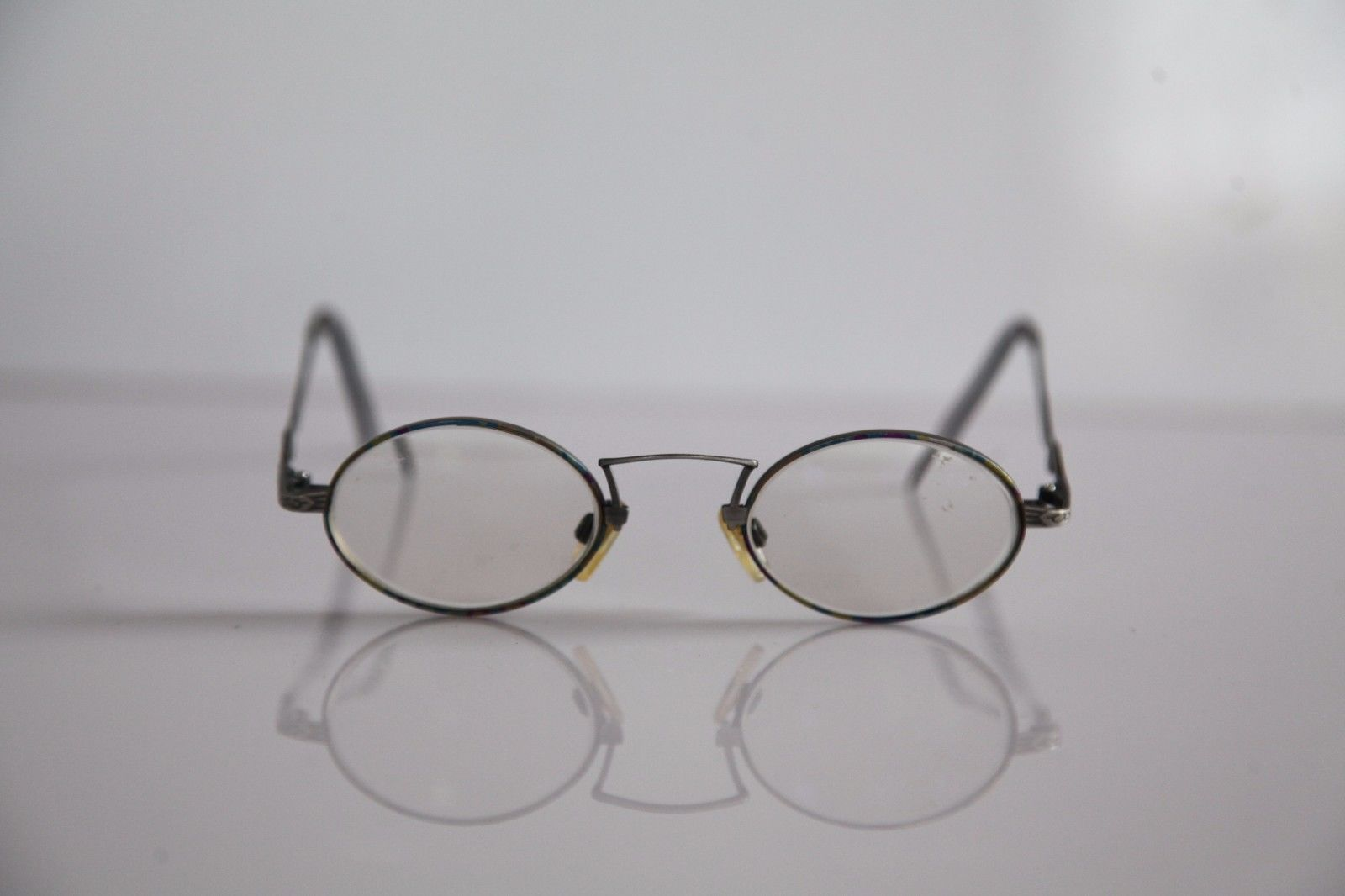 CLAUDIO P. Eyewear, Silver Frame, RX-Able Prescription lenses. Made in Italy image 3
