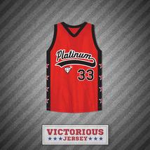 Player 33 Platinum Jewelz Basketball Jersey Crossover - $45.99