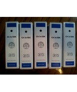 *NEW* 5 Packs Ink Cartridges CA-3e/5BK (BLACK) ... - $39.19