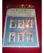 Bucilla Old Time Santas 82633 Christmas Counted... - $48.99