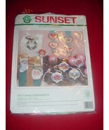 1992 Sunset Plasticpoint Needlepoint #19009  VI... - $47.03