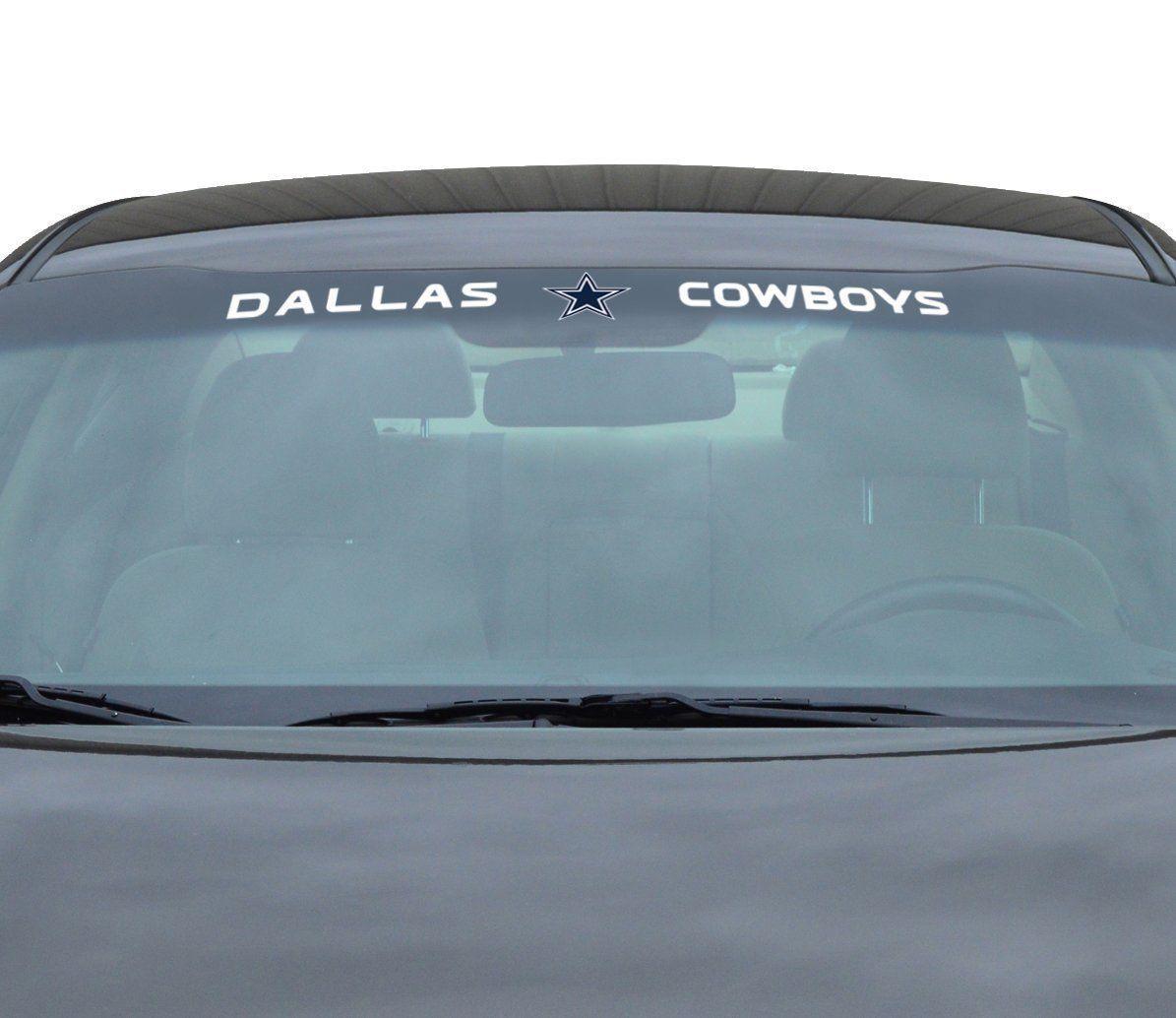 """DALLAS COWBOYS 35"""" X 4"""" WINDSHIELD REAR WINDOW DECAL CAR TRUCK NFL FOOTBALL"""