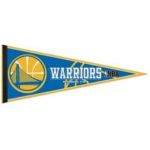 "GOLDEN STATE WARRIORS TEAM FELT PENNANT 12""X30"" NBA BASKETBALL Ships FLAT! - $176,95 MXN"