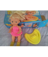 VINTAGE Mattel Baby Kickie Doll w Box and Acces... - $15.00