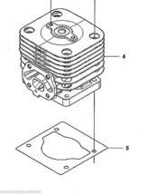 Husqvarna Piston & Cylinder Kit Assy fits 150 350 BF BT Lowes Blower 502848701 - $199.99