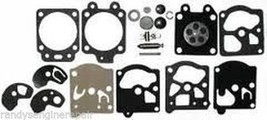 New 2-CYCLE OEM CARBURETOR Carb REBUILD Overhaul Repair KIT WALBRO K10-WAT - $15.99