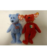 TY Beanie Babies America Bear September 11 2001 Osito Mexico Bear 1999 L... - $9.62
