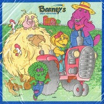 Unique Barney Vintage 'Great Adventure' Small Napkins (16ct) - $11.31