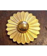 Large Vintage Scarf Clip. Vintage Floral Scarf Clip. Vintage Flower Scar... - $11.00