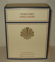 Estee Lauder White Linen Perfumed Body Powder With Puff - 100g/3.4oz - $52.25