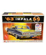 Skill 2 Model Kit 1963 Chevrolet Impala SS Hardtop 4 in 1 Kit 1/25 Scale... - $54.94