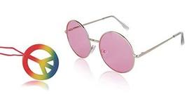 Sunny Pro Round Sunglasses Retro Circle Tinted Lens Glasses UV400 Protec... - $12.27