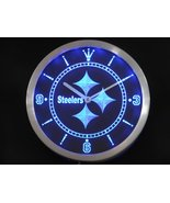 Pittsburgh Steelers Neon/LED Wall Clock Available in Blue, Green and Red - $54.99