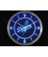 Los Angeles Dodgers Neon/LED Wall Clock Available in Blue, Green and Red - $54.99