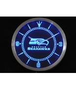 Seatle Seahawks Neon/LED Wall Clock Available in Blue, Green and Red - $54.99