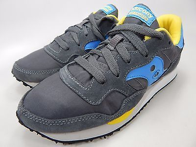 Saucony Original DXN Trainer Women's Size US 7 M (B) EU 38 Gray Blue S60124-11