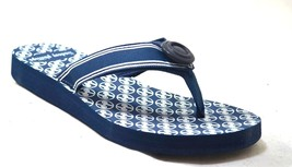 Lindsay Phillips Switch Flops Lulu Navy Womens Thong Sandals - $32.99