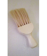 Barber Shop Neck Brush Vintage Wooden Handle and Nylon Bristles - $9.99