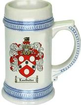 Leadbetter Coat of Arms Stein / Family Crest Tankard Mug - $21.99