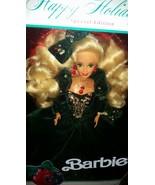 Happy Holidays Barbie 1991 , Blonde Barbie , Vintage Barbie, Barbie New ... - $125.00