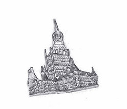 COOL Silver Bran Dracula Castle charm Romania Transylvania - $15.90