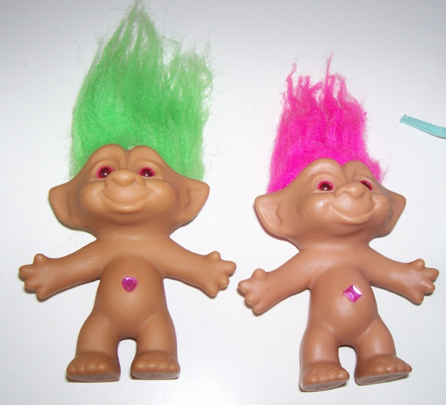 Primary image for Troll Set with Jewel Belly Button by Ace Novelty