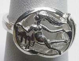 COOL Virgo Silver Zodiac Astrology Horoscope ri... - $24.09
