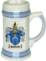 Rychwalski Coat of Arms Stein / Family Crest Tankard Mug - $21.99