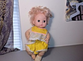 IDEAL TOY CO. 1977 BABY DOLL EYES OPEN AND CLOSE LIFE LIKE - $49.50