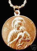 Gold Plated Mary Carmelite Nun Jesus Charm Joannes - $17.26