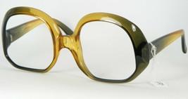 Christian Dior Cd 5 C03 Olive Gradient Amber Eyeglasses Frame 52-18-130 (Notes) - $79.19