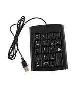 USB 19 keys Numeric Number Keypad Keyboard For Laptop  Desktop PC - $7.49