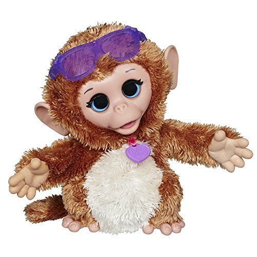 FurReal Friends Baby Cuddles My Giggly Monkey Pet Plush [Toy]