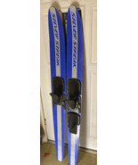 Vintage Silver Streak 1 Water Skis By Taperflex Of America w/ Formulasti... - $197.99