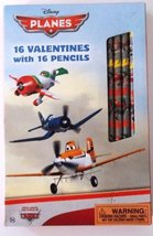 Disney Planes 16 Valentine Cards [Toy] - $9.95