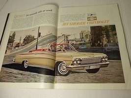 1962 Chevrolet Ads-Jet Smooth, Changes in 1963 Cars Original U.S. News &... - $9.49